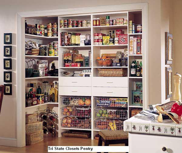 Pantry Tri State Closets